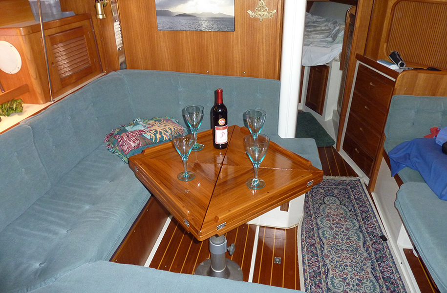 Interior Boat Tables Gallery